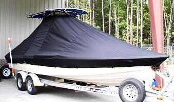 Pathfinder 2400 TRS, 20xx, TTopCovers™ T-Top boat cover, starboard front