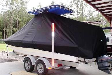 Pathfinder 2400, 20xx, TTopCovers™ T-Top boat cover, port rear