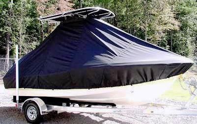 Pioneer 180 Islander, 20xx, TTopCovers™ T-Top boat cover, starboard side