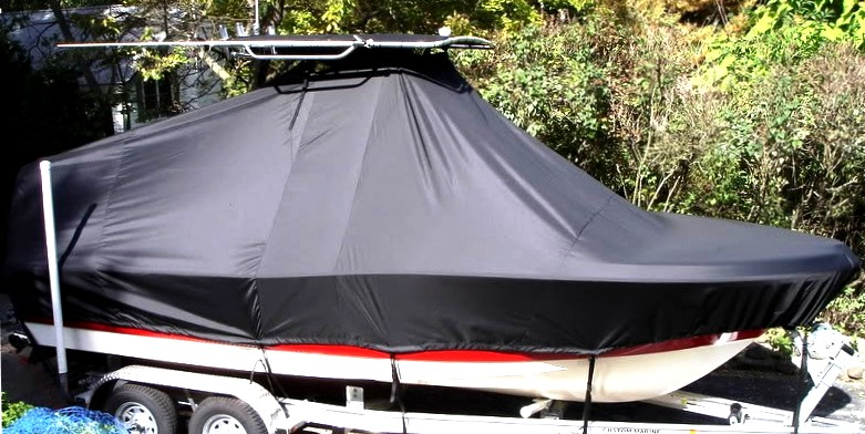 Pioneer, 197 Sport Fish, 2007, TTopCovers™ T-Top boat cover, starboard side