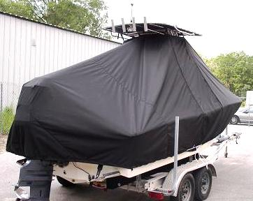 Pioneer, 197 Sport Fish, 20xx, TTopCovers™ T-Top boat cover Rear