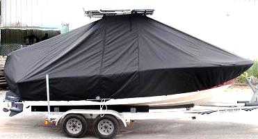 Pioneer, 197 Sport Fish, 20xx, TTopCovers™ T-Top boat cover Side