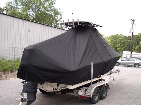 Pioneer, 197CC, 20xx, TTopCovers™ T-Top boat cover Rear 279
