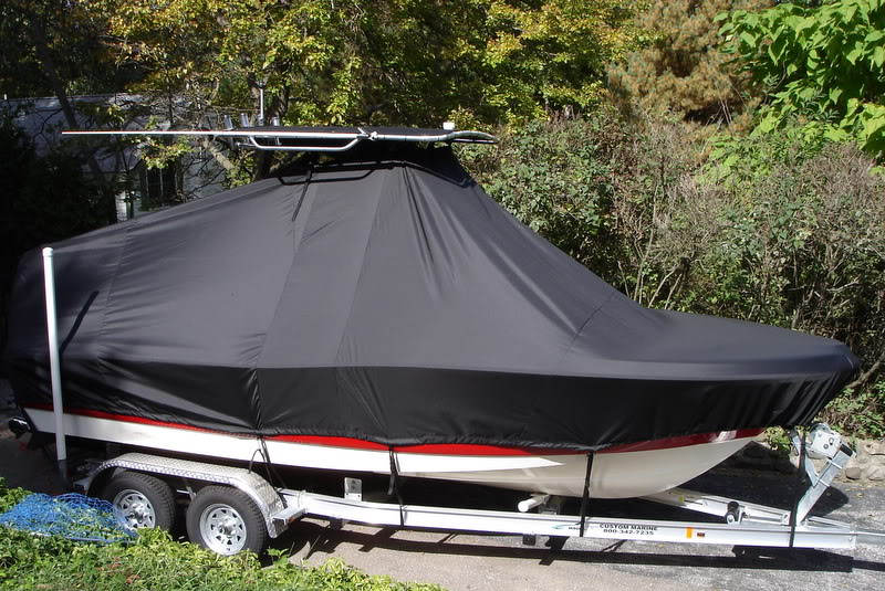 Pioneer, 197SF, 2007, TTopCovers™ T-Top boat cover