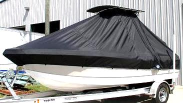 Polar, 1900CC, 20xx, TTopCovers™ T-Top boat cover, port front