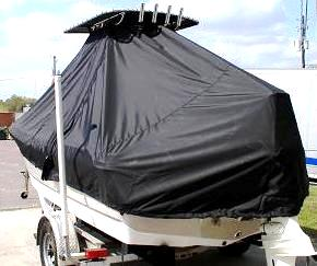 Polar, 1900CC, 20xx, TTopCovers™ T-Top boat cover, port rear