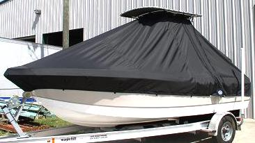 Polar, 1900, 20xx, TTopCovers™ T-Top boat cover Port Front