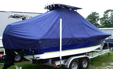Polar 2310 Bay, 20xx, TTopCovers™ T-Top boat cover Stbd Rear
