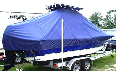 Polar 2310BB, 20xx, TTopCovers™ T-Top boat cover, starboard rear