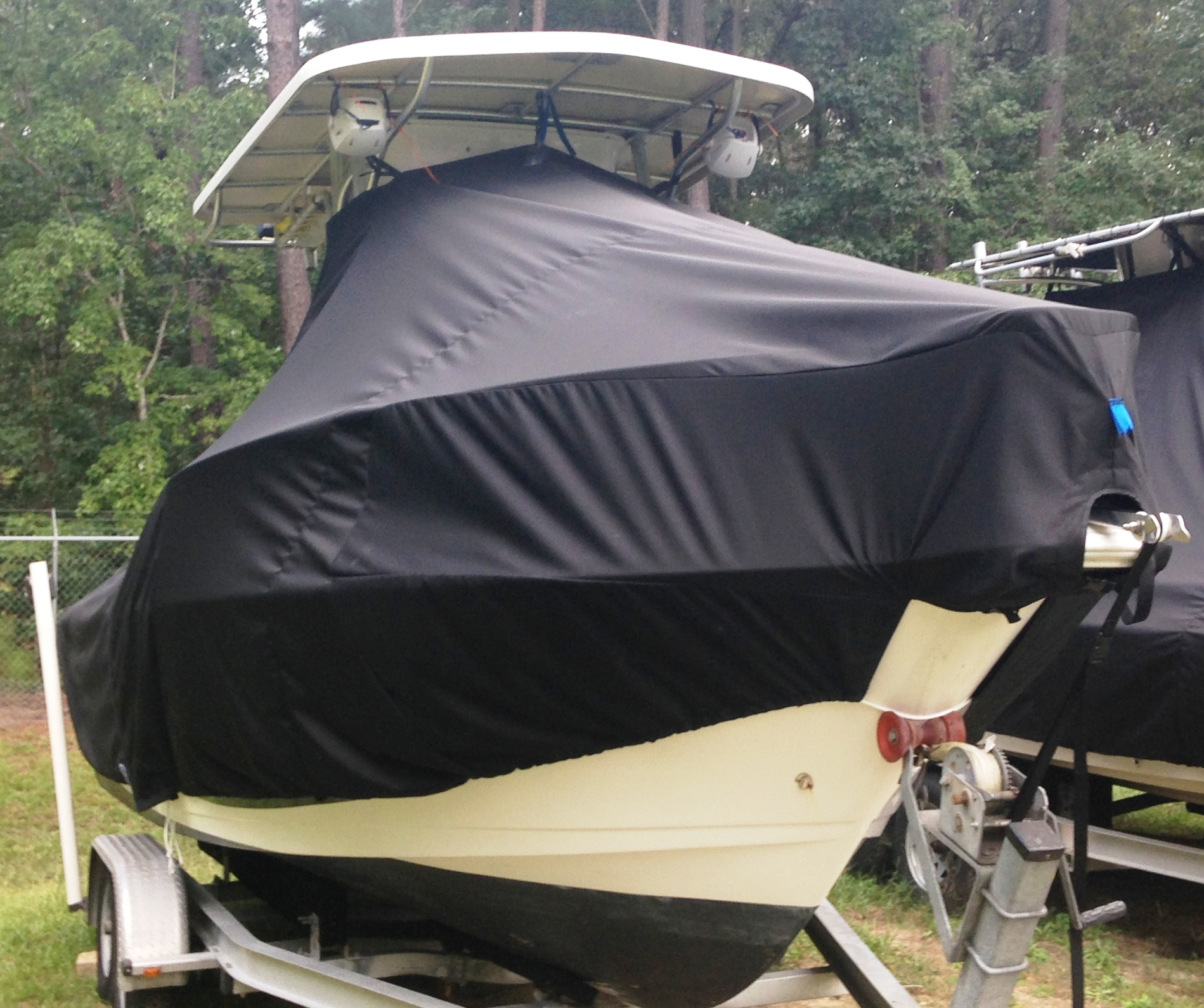 ProLine 21 Sport, 19xx 20xx, TTopCovers™ T-Top boat cover, starboard front