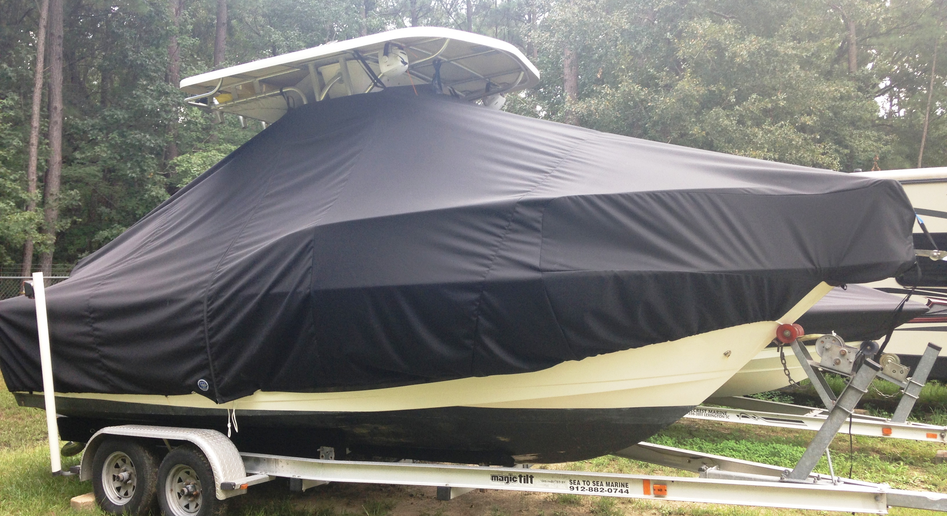 ProLine 21 Sport, 19xx 20xx, TTopCovers™ T-Top boat cover, starboard side