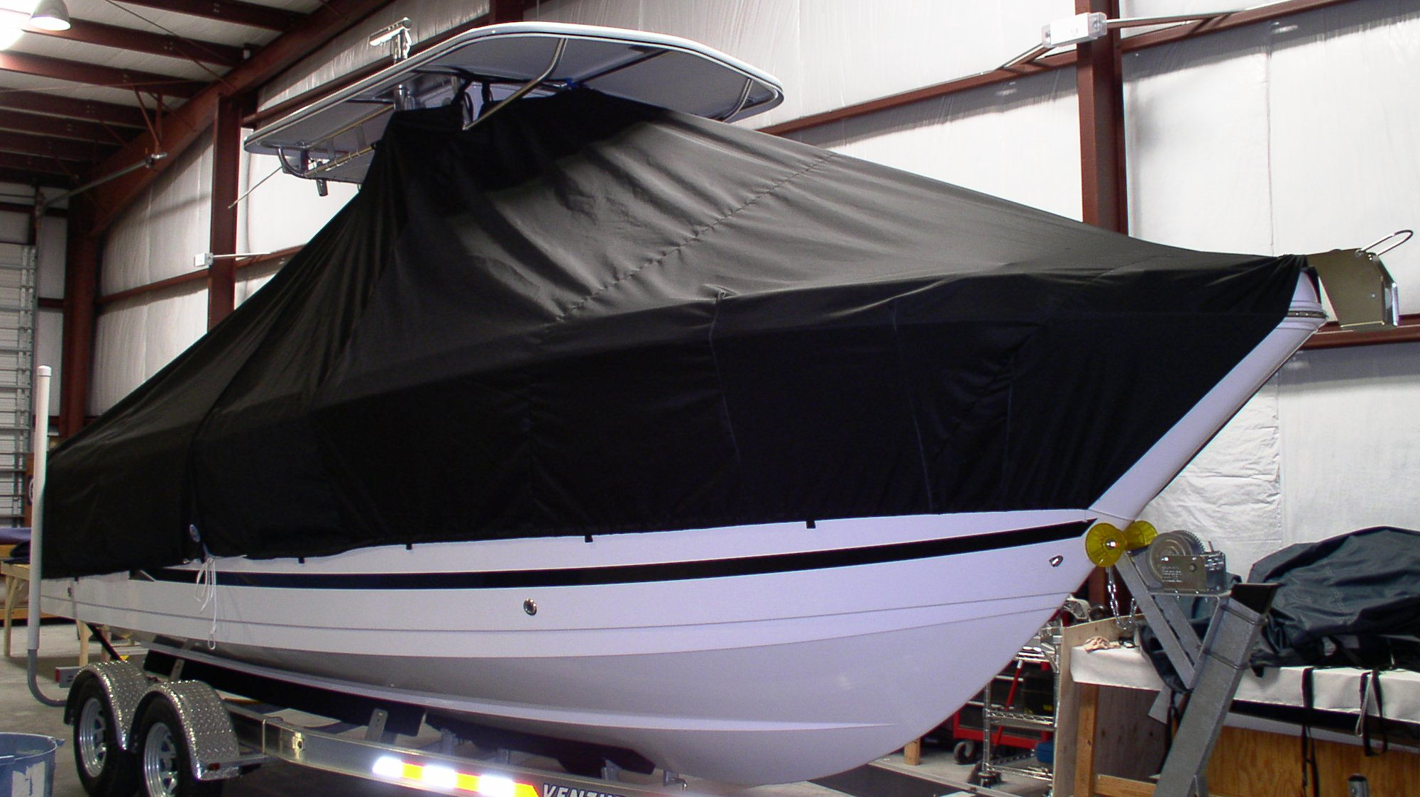 ProLine 23 Sport, 19xx, TTopCovers™ T-Top boat cover, starboard front