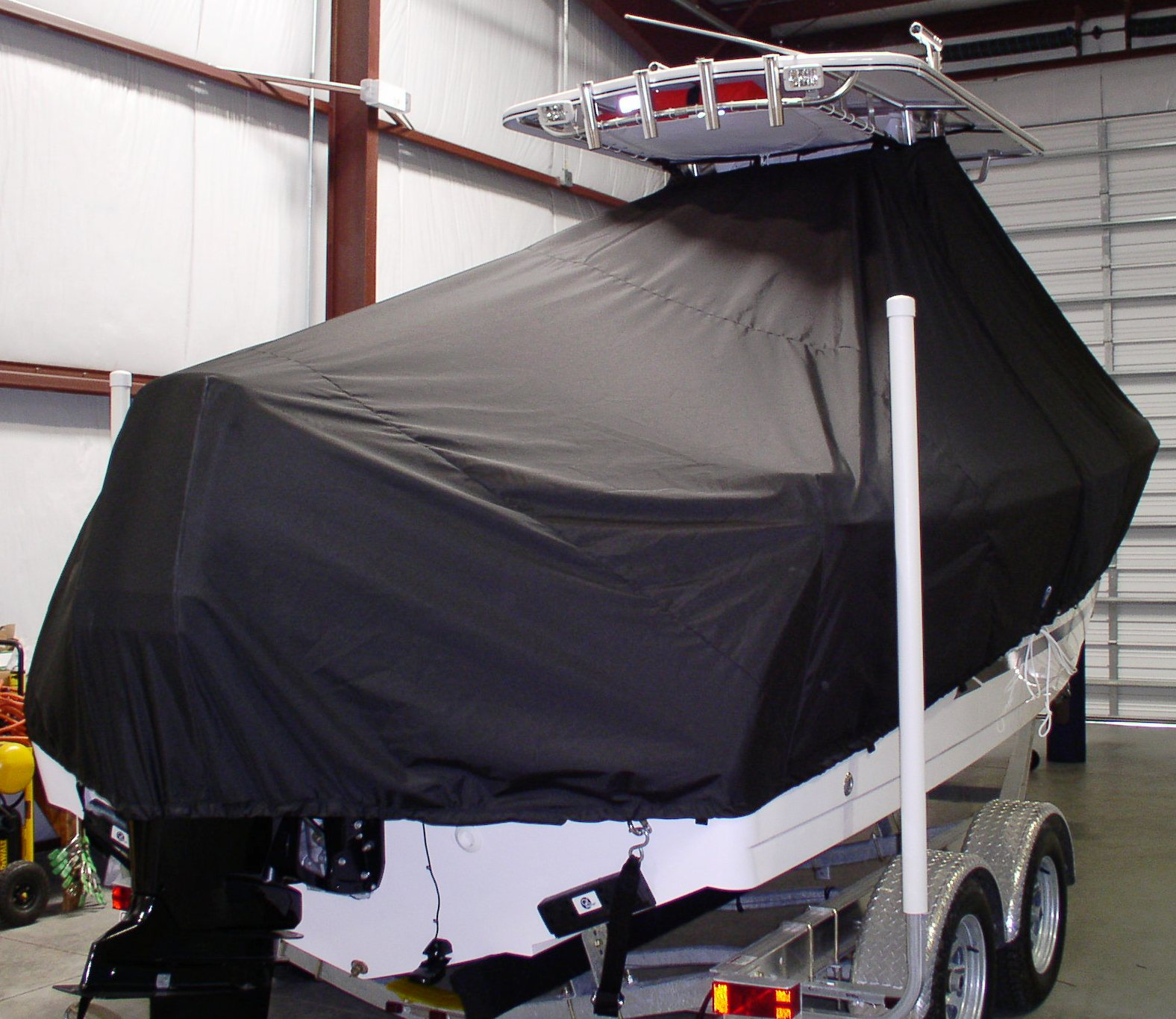 ProLine 23 Sport, 19xx, TTopCovers™ T-Top boat cover, starboard rear