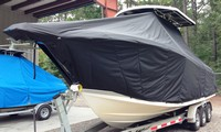 TTopCover™ ProLine, 29 Grand Sport, 20xx, T-Top Boat Cover, port front