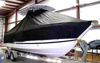 TTopCovers™ Proline, 23 Sport, 20xx, T-Top Boat Cover, stbd front