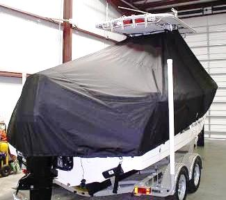 Proline 23 Sport, 20xx, TTopCovers™ T-Top boat cover, starboard rear
