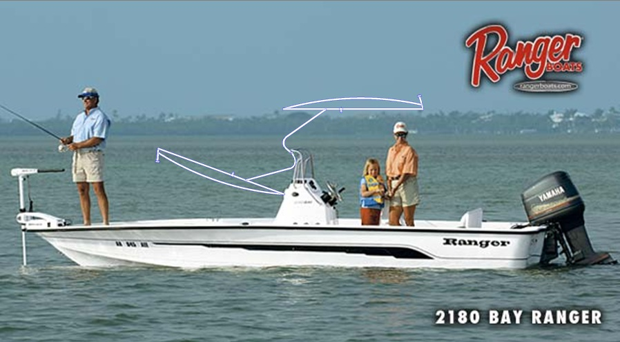 Ranger 2180 Bay Ranger, 2005, T-Topless™ plus30