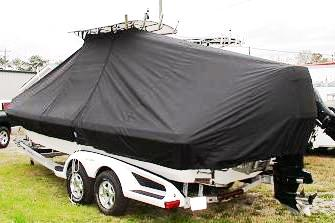 Ranger 2400 Bay, 20xx, TTopCovers™ T-Top boat cover, port rear