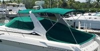 Regal, Commodore 402, 1999, Bimini Top, Camper Top, Cockpit Cover, Sunpad Cover, port rear
