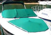 Regal, Ventura, 8.3SE, 1995, Bimini Top in Boot, Bow Cover, Cockpit Cover, stbd front