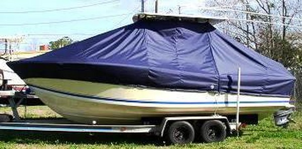 Regulator 23, 19xx, TTopCovers™ T-Top boat cover, port side