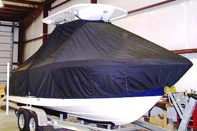 Robalo 220cc, 20xx, TTopCovers™ T-Top boat cover, starboard front