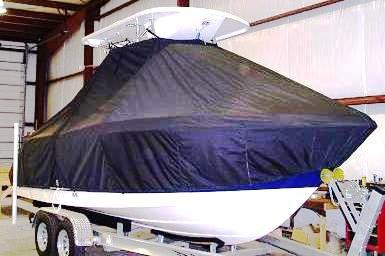 Robalo 222cc, 20xx, TTopCovers™ T-Top boat cover, starboard front