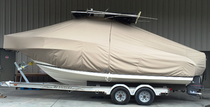 Robalo 230CC, 20xx, TTopCovers™ T-Top boat cover, port side