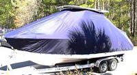 TTopCovers™ Robalo, 247DC, 20xx, T-Top Boat Cover, port front