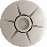 SNAD-M-40-DOMED-20™Twenty (20) each WHITE MALE SNAD(tm) 3M(r) adhesive backed, std. 3/8' Stud (Male Stud), White Domed plastic,  40mm diameter Snaps. Typically used on the boat's fiberglass to attach canvas to