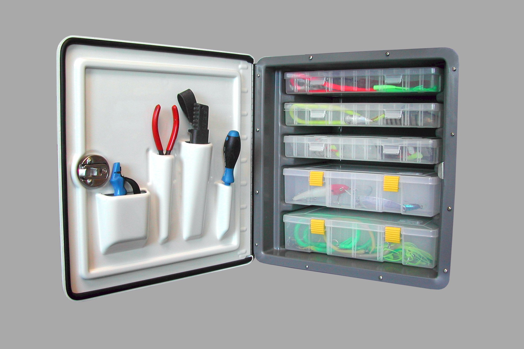 SSI 5 Drawer Deluxe Tackle Center