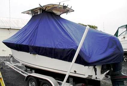 Sailfish 2180, 20xx, TTopCovers™ T-Top boat cover, port rear