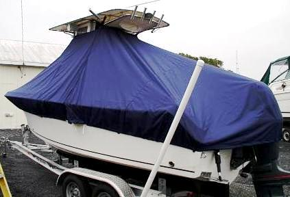 Sailfish 218CC, 20xx, TTopCovers™ T-Top boat cover, port rear