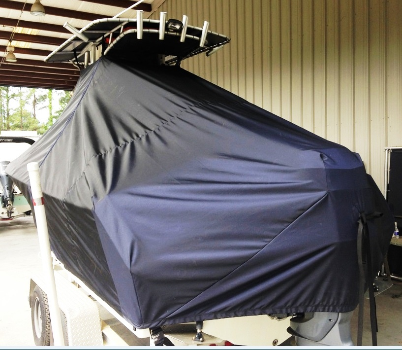 Sailfish 220CC, 20xx, TTopCovers™ T-Top boat cover, port rear