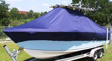 Sailfish 2660, 20xx, TTopCovers™ T-Top boat cover, port front