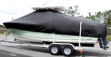 Sailfish 2880CC, 20xx, TTopCovers™ T-Top boat cover, port side