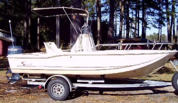 Scout 172SF, 1994, Shadow™ Folding TTop 1