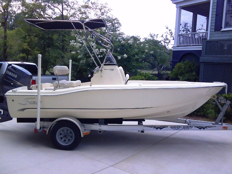 Scout 175 Sportfish, 2006, T-Topless™ Raised, 2010jun10 DSC00545