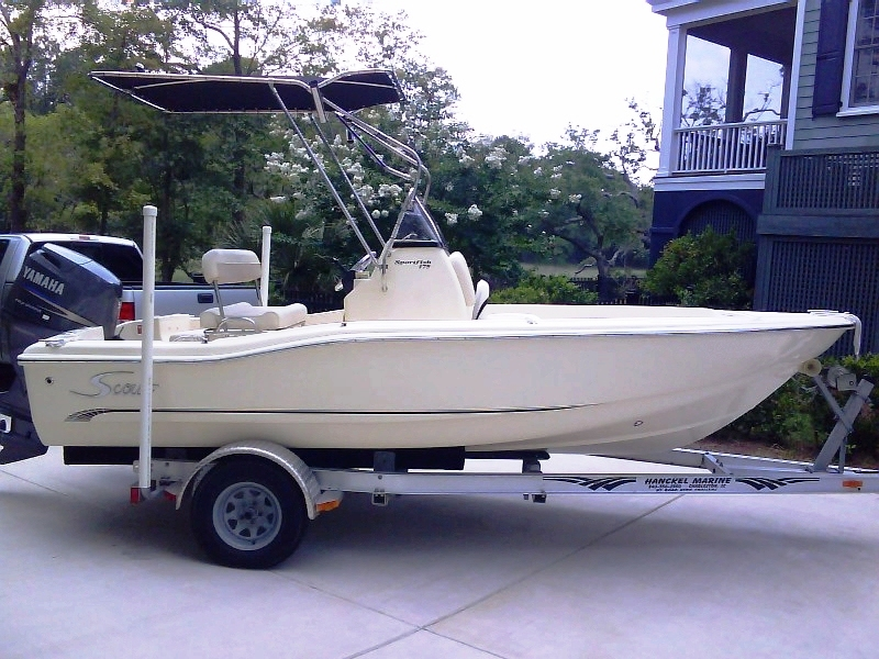 Scout 175SF, 2006, T-Topless™ Raised, 2010jun10 DSC00545