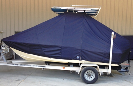 Scout 175SF, 20xx, TTopCovers™ T-Top boat cover, port side