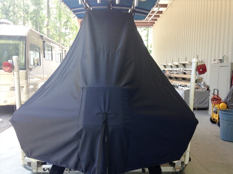 Scout 175SF, 20xx, TTopCovers™ T-Top boat cover rear
