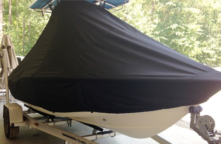 Scout 175SF, 20xx, TTopCovers™ T-Top boat cover, starboard front