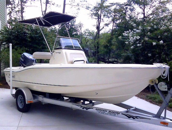 Scout 175 Sportfish 2006, T-Topless™ Raised, 2010jun10 DSC00546