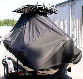 Scout 185SF, 19xx, TTopCovers™ T-Top boat cover rear
