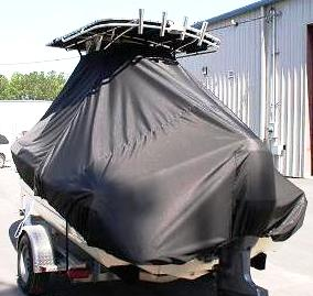 Scout 185SF, 20xx, TTopCovers™ T-Top boat cover rear