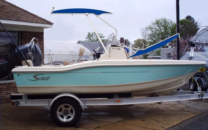 Scout 187 Sportfish, 2008, Montauk-T-Topless™