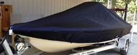 LaPortes™ Scout, 191 Bay Scout, 20xx, Boat Cover LCC, with Optional Power Pole covers, port front