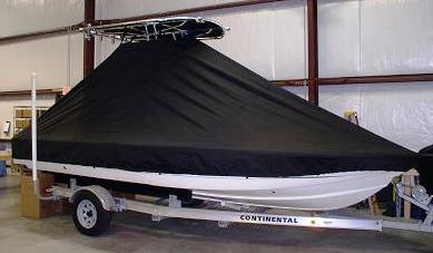 Scout, 200 Bay Scout, 20xx, TTopCovers™ T-Top boat cover 557 side