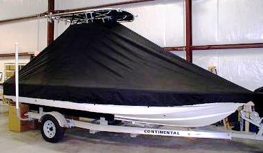 Scout, 200 Bay Scout, 20xx, TTopCovers™ T-Top boat cover side
