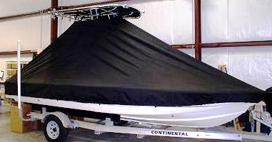 Scout, 201 Bay Scout, 20xx, TTopCovers™ T-Top boat cover side
